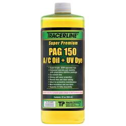 32OZ BOTTLE PAG 150 A/C OIL W/DYE