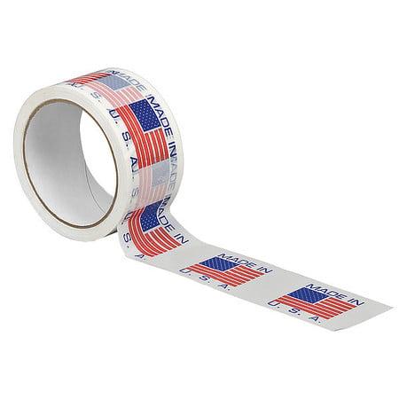 Carton Sealing Tape,Made In USA Text 3M 371