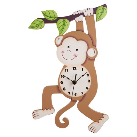 Fantasy Fields - Sunny Safari Monkey Wall Clock