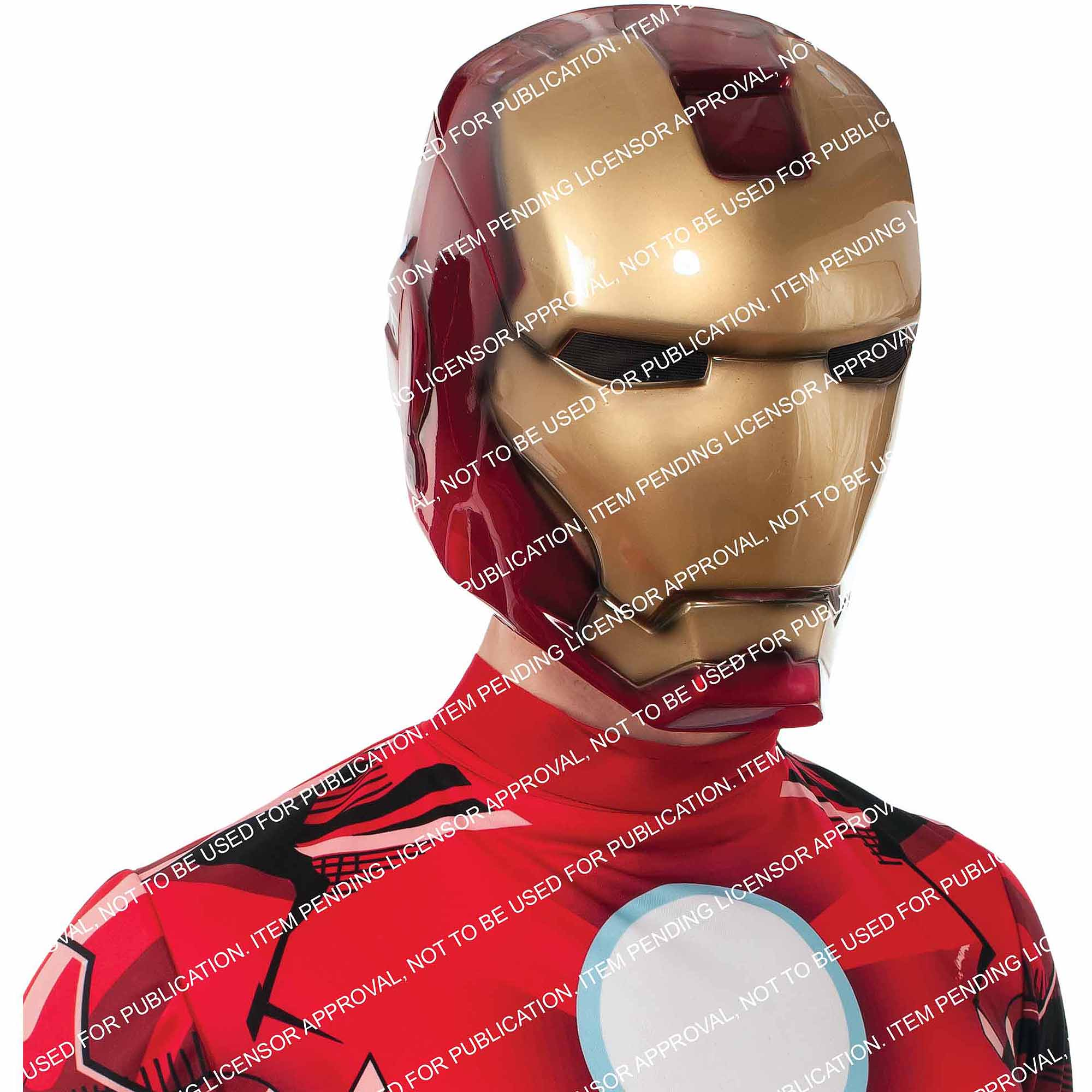 Iron Man Deluxe Mask Adult Halloween Accessory