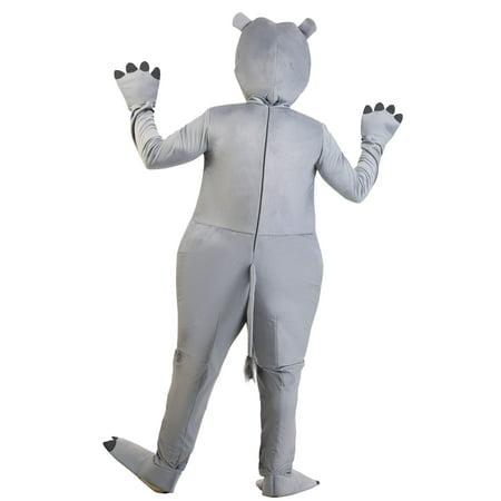 Unisex Hippo Costume - image 2 of 2