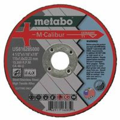 M-Calibur Ca46U Grinding Wheel For Stainless Steel, 4 1/2 X 1/16 X 7/8