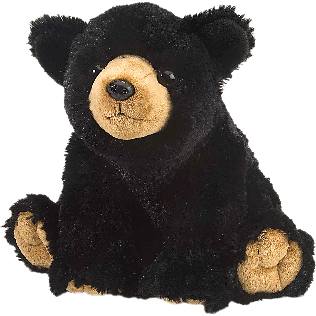 Cuddlekins Black Bear by Wild Republic