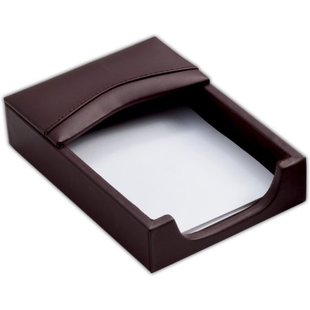 Chocolate Brown Leather 4 x 6 Memo Holder ()