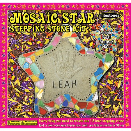 Milestones Mosaic Star Stepping-Stone Kit