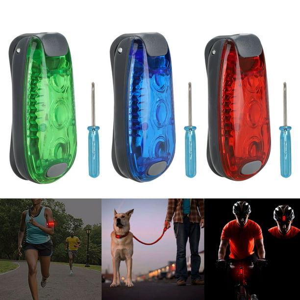 Running Light for Joggers Runners Dog Collars Safety LED Flashlight Dog Walking