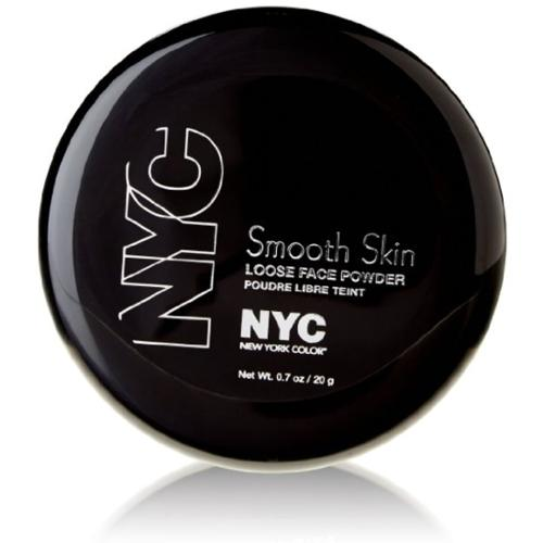 New York Color Smooth Skin Loose Face Powder, Translucent [741] 0.7 oz (Pack of 4)