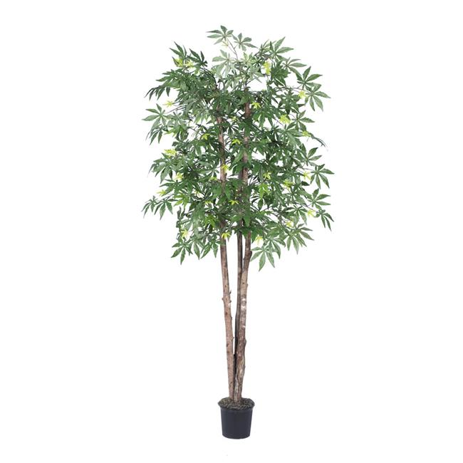 6.5 ft. Artificial Japanese Maple Deluxe Tree - Green