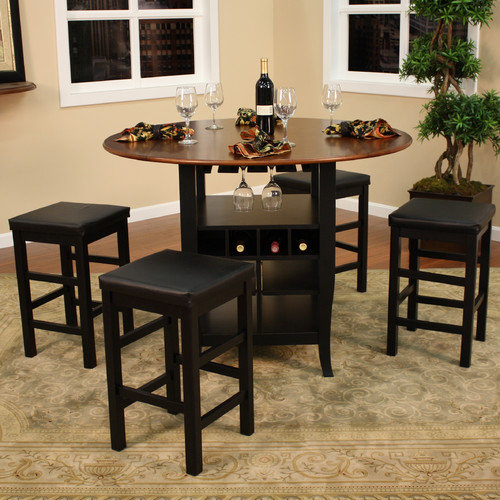 American Heritage Somerset 5 Piece Counter Height Dining Set