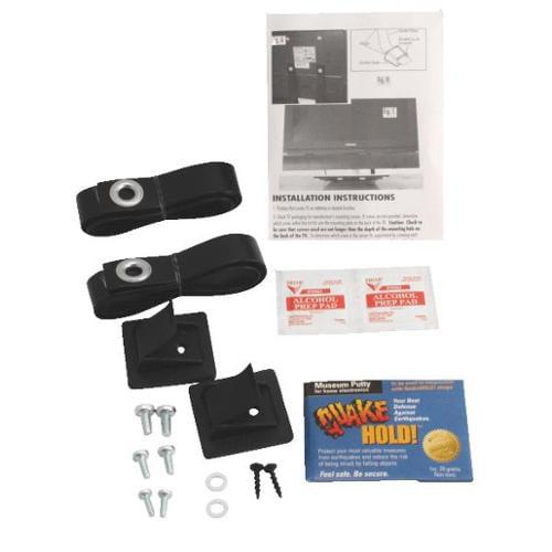 """Quake Hold 04515 40"""" Flatscreen Quake Hold Straps"""