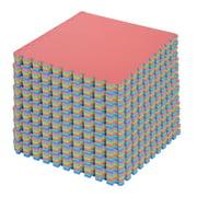 54pcs EVA Foam Interlocking Tiles 209sq.ft Multi-Color