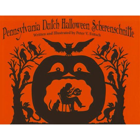 Pennsylvania Dutch Halloween Scherenschnitte - Holland Halloween Traditions