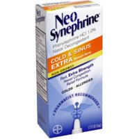 Neo-Synephrine Nasal Decongestant Cold & Sinus Extra Strength Spray (Pack of 36)
