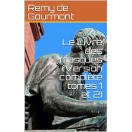 Le Livre des masques (Version compl?te tomes 1 et 2) - eBook - Le Masque D'halloween