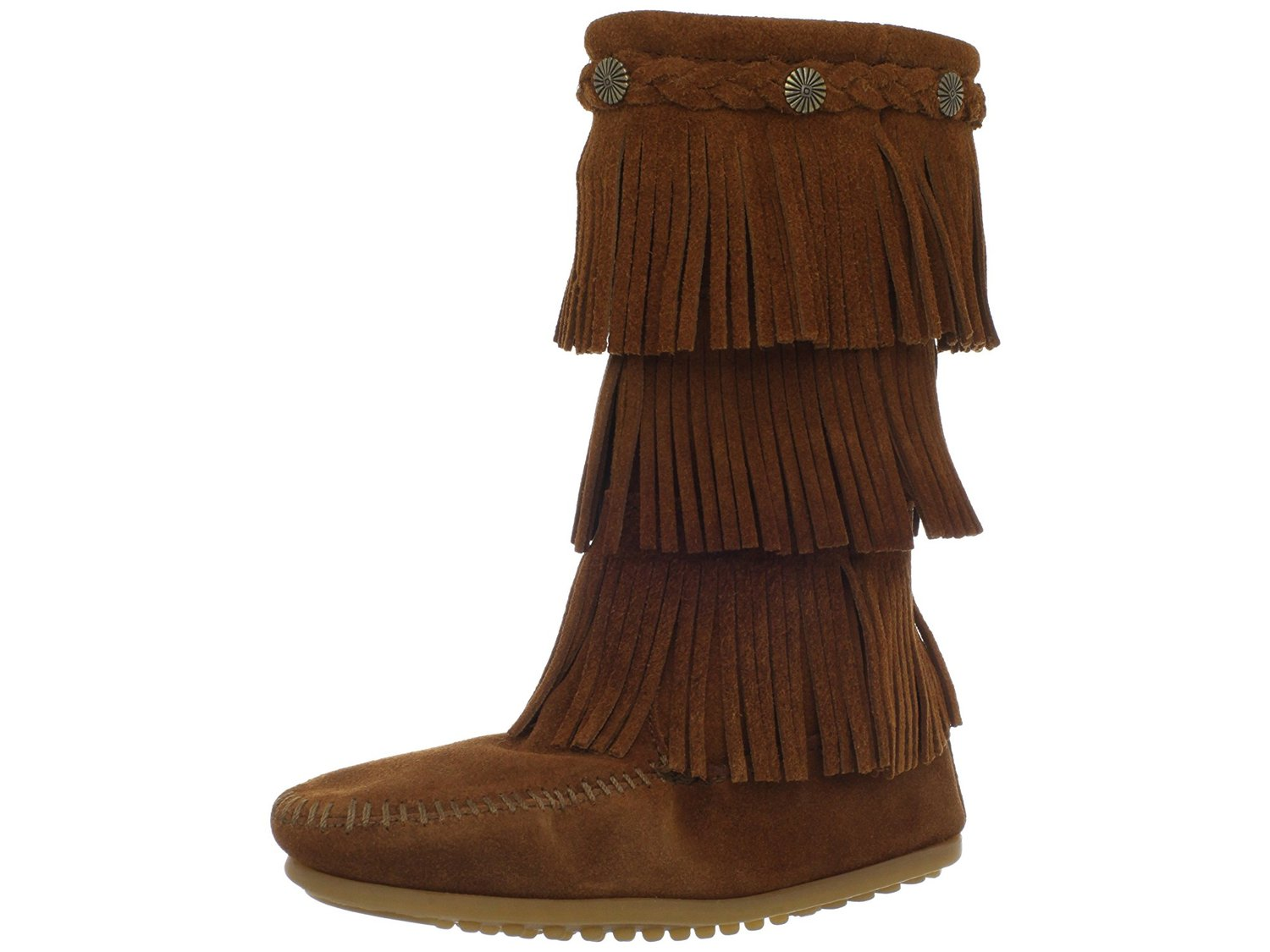 Minnetonka 3-Layer Fringe Boot by Minnetonka