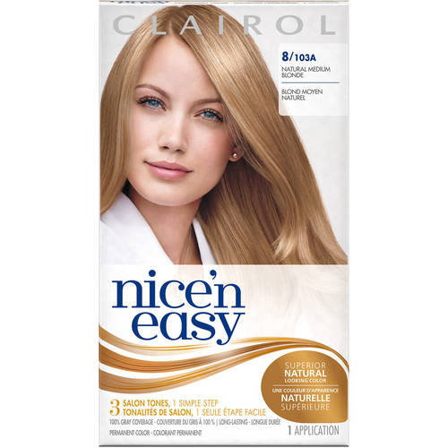 Clairol Nice N Easy Permanent Hair Color Natural Medium