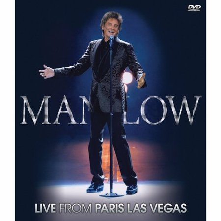 Manilow Live From Paris Las Vegas (Music DVD)