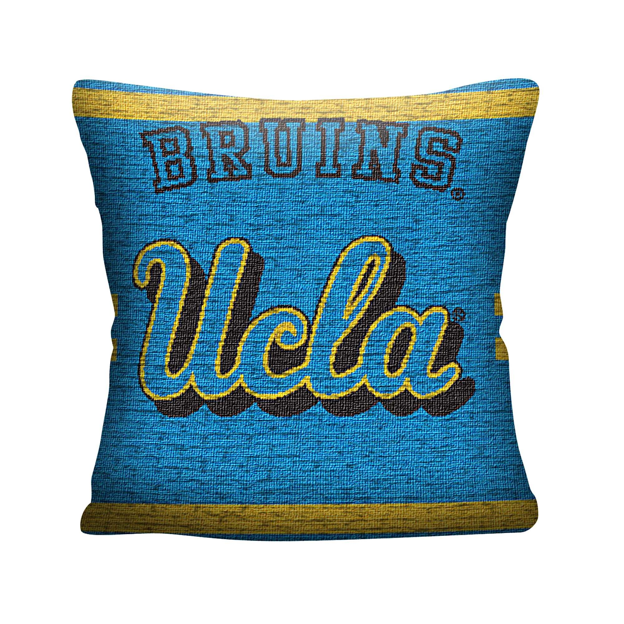 "NCAA UCLA 20"" Square Decorative Woven Pillow by The Northwest Company"