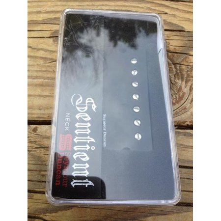 Seymour Duncan Sentient 7 String Soapbar Humbucker Guitar Pickup Active Mount Neck Black -