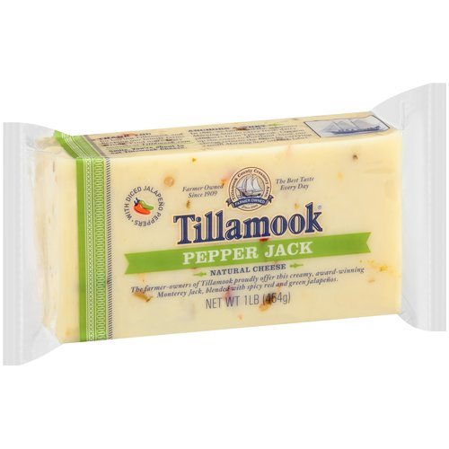 Tillamook Pepper Jack Cheese, 1 lb