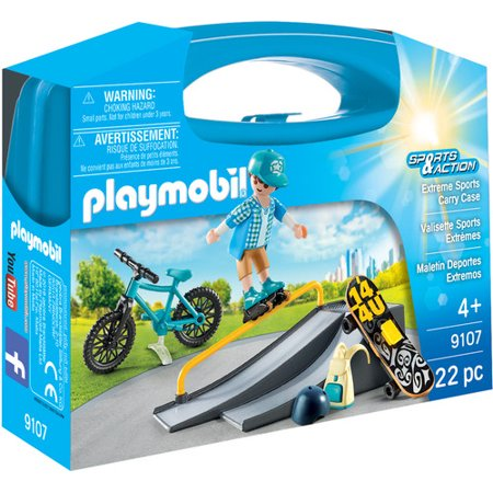 Extreme Sports Case - Imaginative Play Set by Playmobil (9107) - Extreme Toys