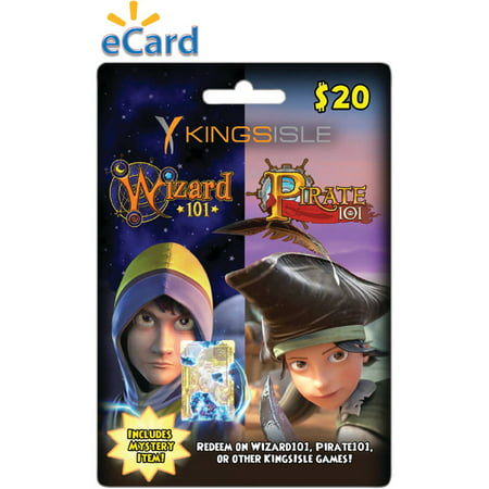KingsIsle Combo Card $20 (Email Delivery) (Wizards 101)
