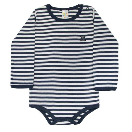 2b44db886b4a Pulla Bulla Toddler Striped Long Sleeve Romper for Ages 1-3 Years ...