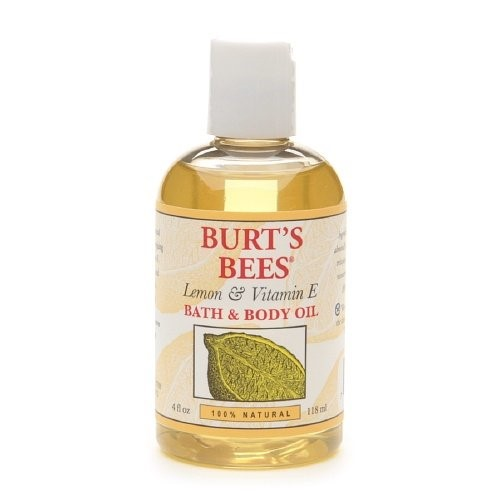 Burts Bees, Burt's Bees Lemon & Vitamin E Bath & Body Oil, 4 fl oz