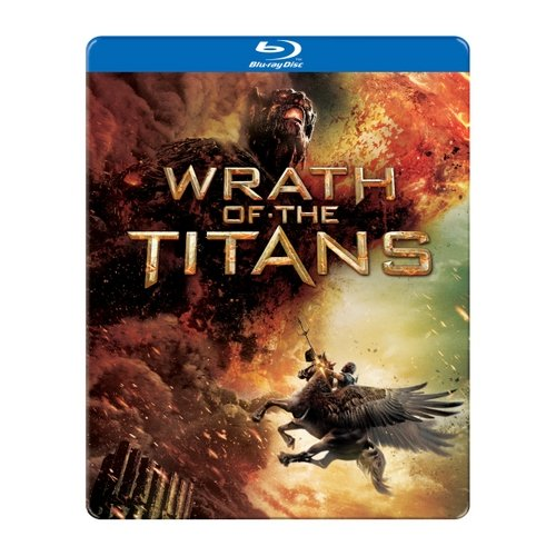 Wrath Of The Titans (Blu-ray) (Steelbook Packaging) (Widescreen)