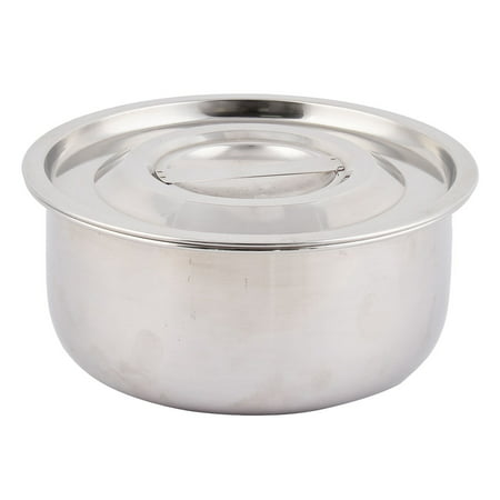 Picnic Stainless Steel Cooking Lidded Paprika Soup Holder Pot Pan 17cm - Stainless Steel Soup Pot