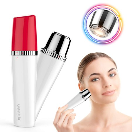 Facial Hair Remover for Women,XPREEN Painless Lady Shaver Hair Removal Waterproof Face Body Razor for Peach Fuzz Fine Hair Chin Cheek Upper (Facial Hair For Oval Face)