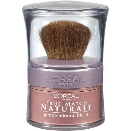 L'Oreal Paris True Match Mineral Blush, Soft Rose, 0.15 oz