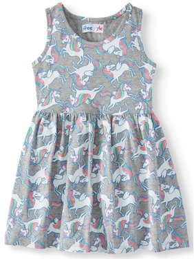 9601a3ca95e1 Product Image Girls  Jersey Fit and Flare Dress
