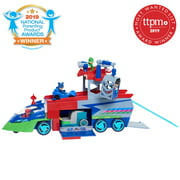 PJ Masks PJ Seeker Vehicle Playset with Lights and Sounds, Includes Catboy and Cat-Car, Stores Up to 4 Vehicles