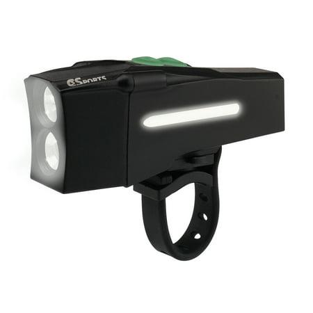 C3Sports Explorer 900 Bike Headlight Lumens With Flood And Spot Light
