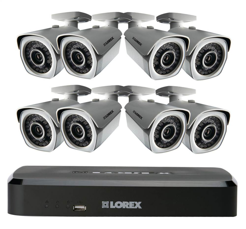 8 Channel NVR IP Bullet Camera
