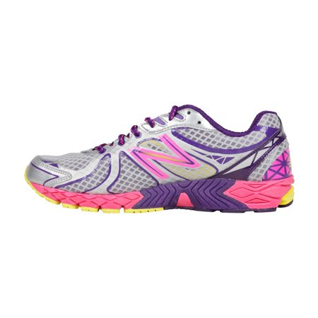 3ce5a5b74dbc2 New Balance Womens Running Course Grey Pink Synthetic Athletic ...