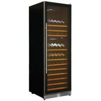 Koolatron WC160DZ 121 Bottle Dual Zone Electric Wine Cooler with Digital Temperature Controls