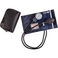 Mabis Economy Manual Blood Pressure Cuff, Aneroid Sphygmomanometer Blood Pressure Kit, Adult
