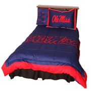 College Covers NCAA Ole Miss Reversible Comforter Set