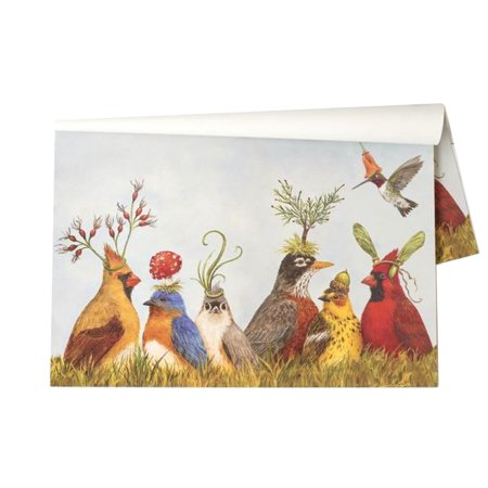 Kitchen Papers Angie's Party Breakfast Lunch Dinner Disposable Paper Placemats 30 Sheets/Pack Made In USA