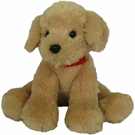 First and Main Inc. Pup E Dog Plush, Tan