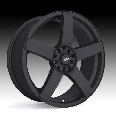 ICW Racing 216B Mach 5 Satin Black 15x6.5 4x100 / 4x4.25 38mm (216B-5650238) (4x100 Racing Rims)
