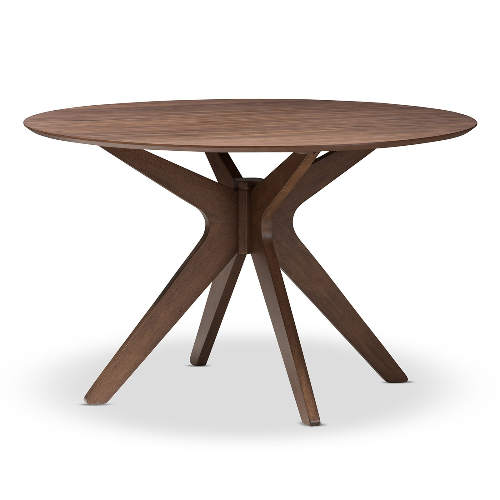 Baxton Studio Monte Round Dining Table