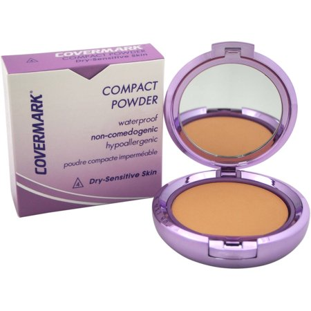 Covermark for Women Compact Powder Waterproof # 4 Dry Sensitive Skin, 0.35