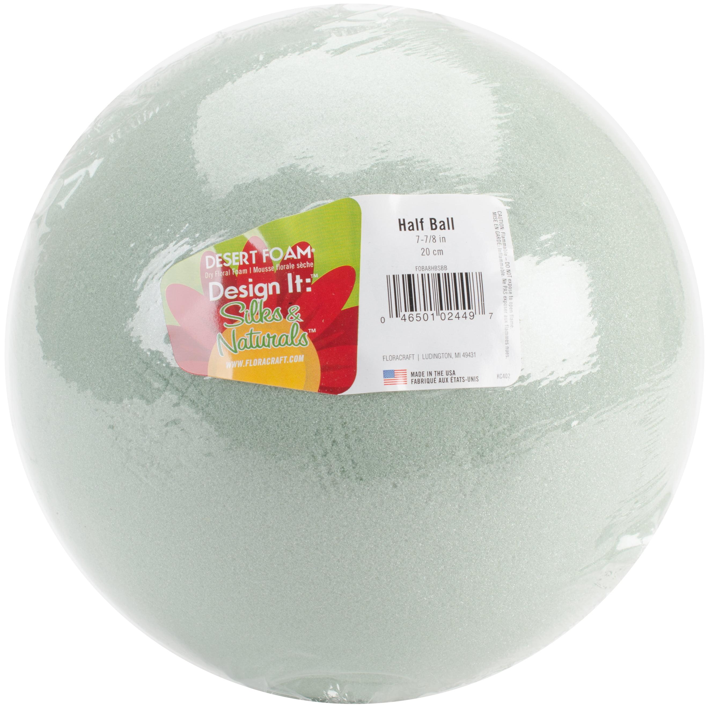 """Desert Foam Half-Ball Arranger-8""""X4"""""""