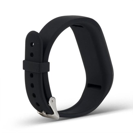 Buckle Band (Watch Sport Silicone Wrist Band Bracelet Buckle For Garmin Vivofit 3 BK)