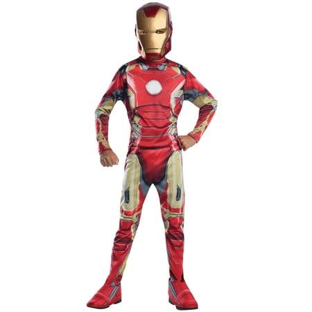 Costumes Iron Man (Iron Man Mark 43 Child Halloween)