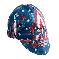 Lincoln Electric K3203-ALL All American Welding Cap, Red, White & Blue