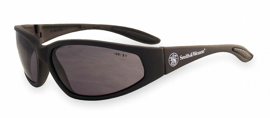 Smith & Wesson 38 Special Scratch-Resistant Safety Glasses, Smoke Lens Color by Jackson Products Inc.